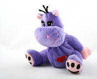 Hippopotamus del juguete Fotografía de archivo