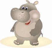 Hippopotamus del vector Fotos de archivo libres de regalías