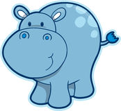 Hippopotamus Vector Stock Images
