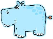 Hippopotamus Vector Stock Photography