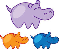Hipposchets Stock Afbeelding