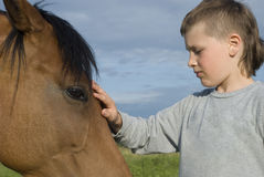 Hippotherapy Stock Photography