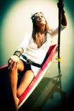 Hippy Fotografie Stock