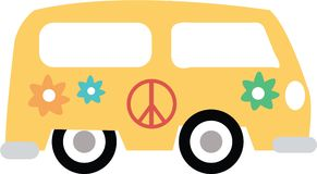 Hippy Bus Stock Photography