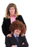 Hippy businessman Royalty Free Stock Image