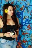 Hippy 2 dell'albero della vita Immagini Stock Libere da Diritti