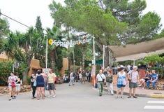 Hippy Market Es Canar Ibiza Stock Image
