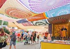Hippy Market Es Canar Ibiza Royalty Free Stock Image