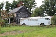 Hippy Bus Stock Image