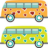 Hippy Van vector Stock Photo