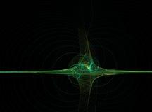 Hipérbola del fractal Foto de archivo libre de regalías