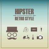 hipster ilustração do vetor