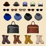 Hipster accessories man Royalty Free Stock Photo