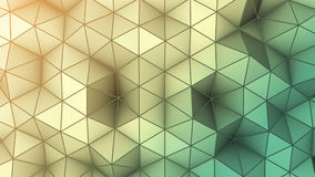 Hipster background abstract 3D render Royalty Free Stock Photo