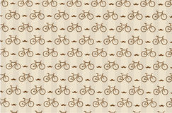Hipster background with a bicycle Royalty Free Stock Image