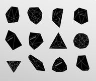 Hipster background made of triangles and space background Royalty Free Stock Photos