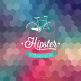 Hipster background. Hipster style background. Vector illustration Stock Photos