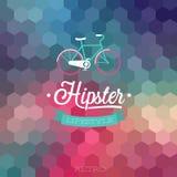 Hipster background. Hipster style background. Vector illustration royalty free illustration