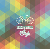 Hipster background. Royalty Free Stock Images