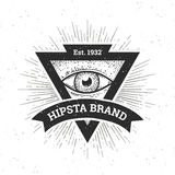 Hipster Banner Stock Images