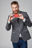 Hipster bedrijfsmens Royalty-vrije Stock Fotografie