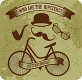 Hipster bike Royalty Free Stock Image
