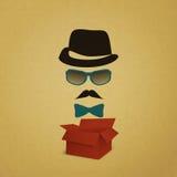 Hipster box Royalty Free Stock Photos