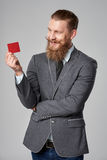 Hipster business man Royalty Free Stock Photography