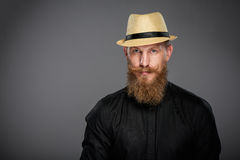 Hipster business man Stock Image