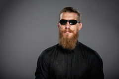 Hipster business man Royalty Free Stock Image