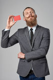 Hipster business man Royalty Free Stock Photos