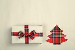 Hipster christmas gift Stock Image
