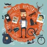 Hipster concept seal icon Stock Photos