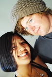 Hipster couple royalty free stock photography