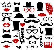 Hipster design elements, vector Royalty Free Stock Photos