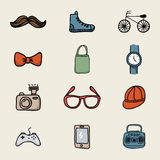 Hipster design Stock Images