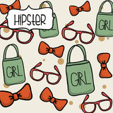 Hipster design Stock Photo