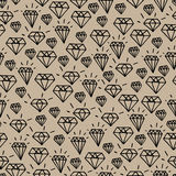 Hipster diamond pattern Royalty Free Stock Image