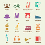 Hipster elements Royalty Free Stock Photography
