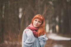 Hipster. Emotions. Royalty Free Stock Photography