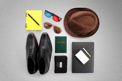 Hipster essentials stock image