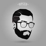 Hipster för kort hår Royaltyfri Foto