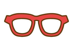 Hipster fashion eyeglass, vector graphic Stock Photo