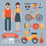 Hipster Royalty Free Stock Images