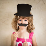 Hipster funny kid Royalty Free Stock Photo