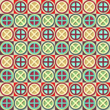 Hipster geometric pattern Stock Photo