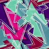 Hipster geometric seamless pattern Stock Photo