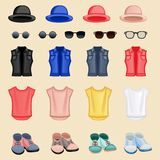 Hipster girl accessories Stock Photo