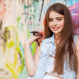 Hipster girl Royalty Free Stock Photos