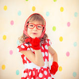 Hipster girl Royalty Free Stock Images